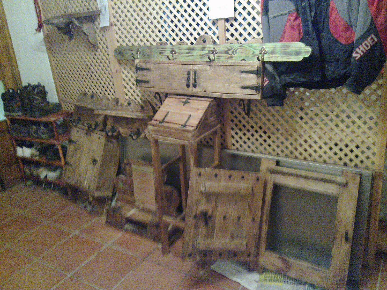 Muebles de antes muebles rusticos para casas de campo y - Casas de muebles ...