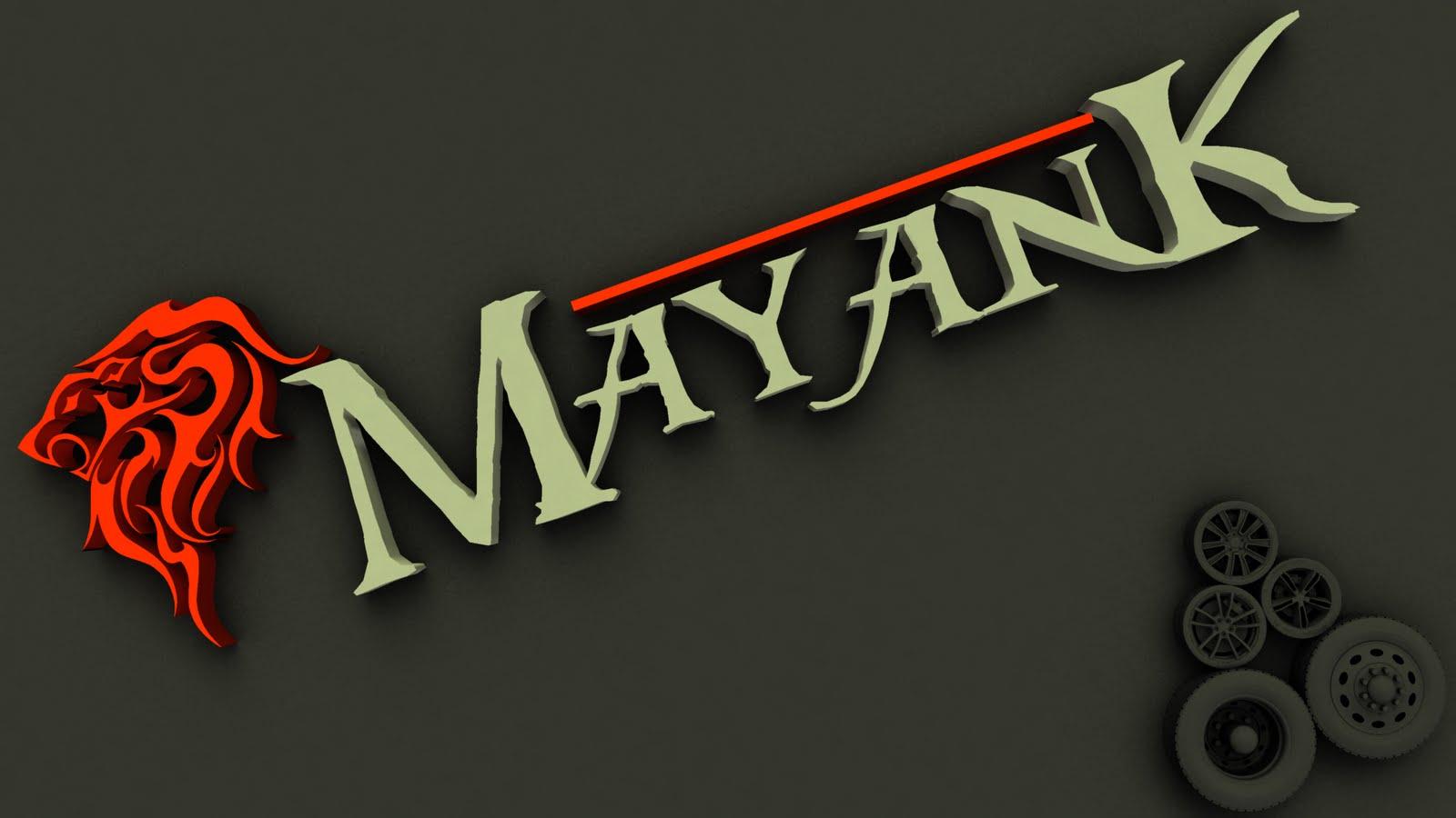 Mayank 3d Wallpaper Mayank Kumar Jariya