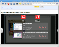 Reading, Writing and Arithmetic: a webkit-based web browser