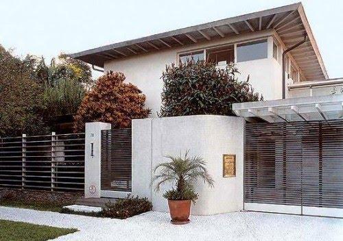 Fachadas de casas bonitas - Revestimientos de fachadas modernas ...