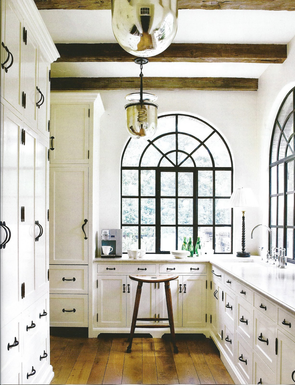 Black Kitchen Cabinet Hinges Monday In The Kitchen White With Soul Design