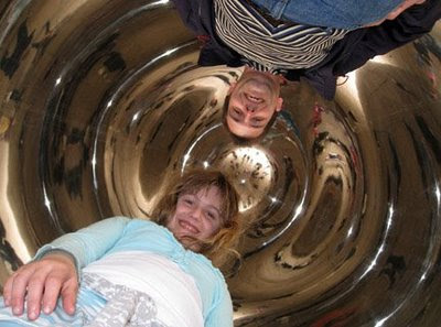 thing 1 and me under the chicago bean