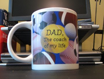 dad coach of my life mug