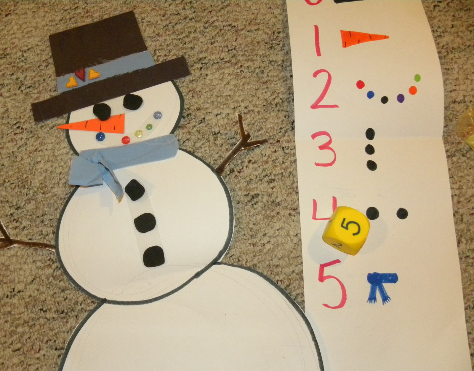 From The Hive Preschool Snowmen