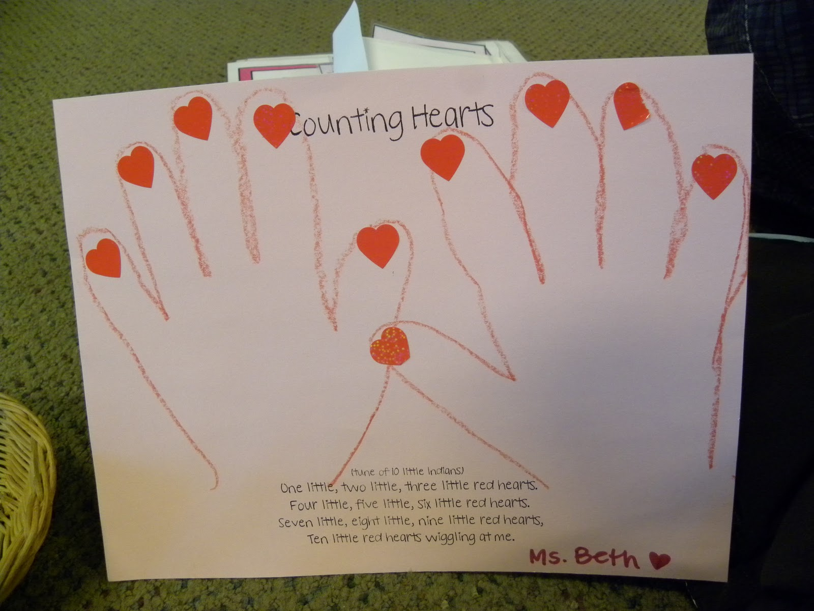 From The Hive Preschool Valentines Day Activities