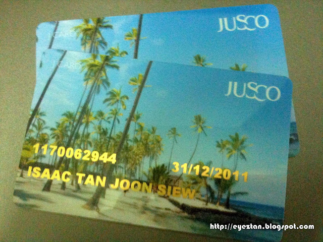 Jaya Jusco Membership Card