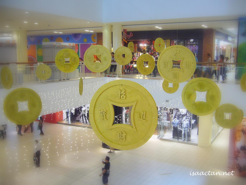 CNY Deco At Queensbay Mall Penang | Isaactan.net | Events ...