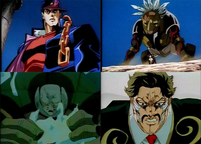 Izvanredan crtež inspirisan je zapadnjačkim superherojskim stripovima i  kultnom mangom Hokuto no Ken, čiji se uticaj prenosi i dalje, na OraOraOra!  napad ...