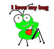 Cricut Love my Bug