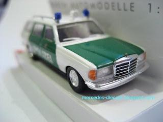Mercedes Models Collection Mercedes W123 T Model Polizei Baden