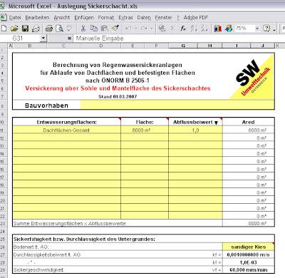 Beliebt AH_CAD_BRAIN-POOL: Sickerschacht - Dimensionierung VI49