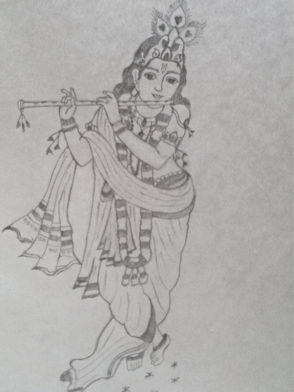 When my pencil speaks ♥ ツ: Lord Krishna