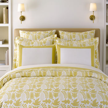 Myleka and Chris: My Obession - Yellow Bed Sets