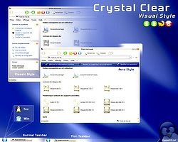 tema win xp crystal clear