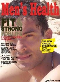 Foto su copertina di rivista