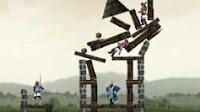 Gioco: Butta giu il castello e rompi tutto con la catapulta!
