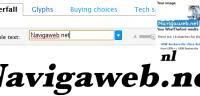 Trova il font o il carattere usato in un logo o immagine