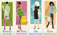 Siti al femminile con giochi online per ragazze, di moda, vestiti, shopping