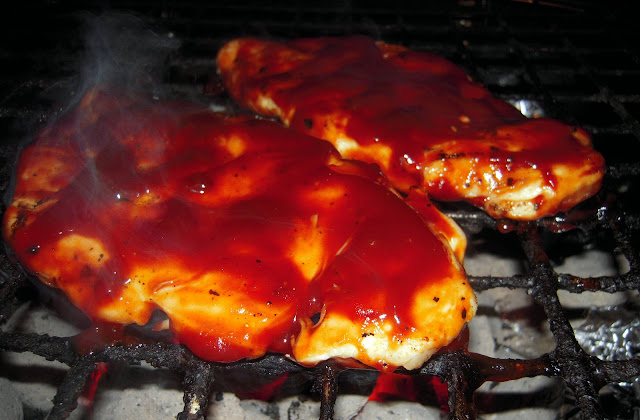 Daytona Chicken - grilled chicken with a Buffalo BBQ sacue