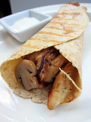 Hickory Chicken Wrap - Roly Poly Copycat