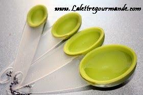 teaspoons et tablespoons