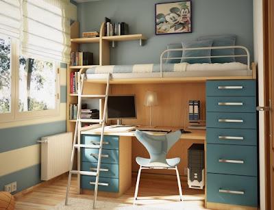 غرف نوم للاطفال childrens-room-6-582