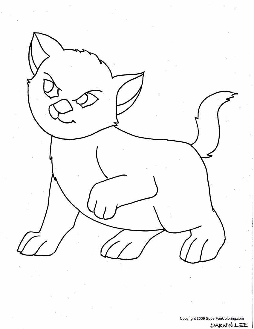 Free Wallpapers: Cartoon Coloring Page for Children
