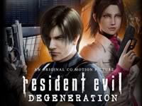 Resident Evil Degeneration Movie
