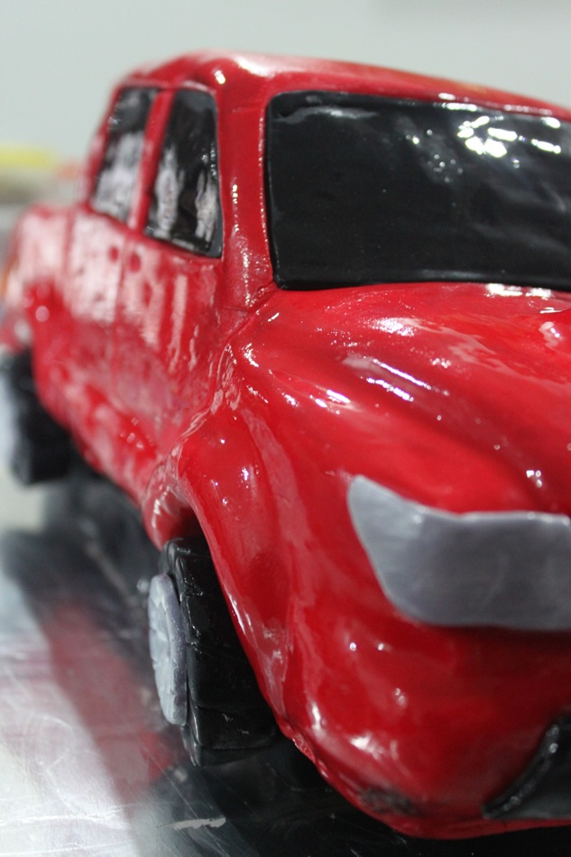 Citscakes Red Toyota Hilux Cake