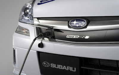 Closer Look At The Subaru Stella Plug In Electric Vehicle News