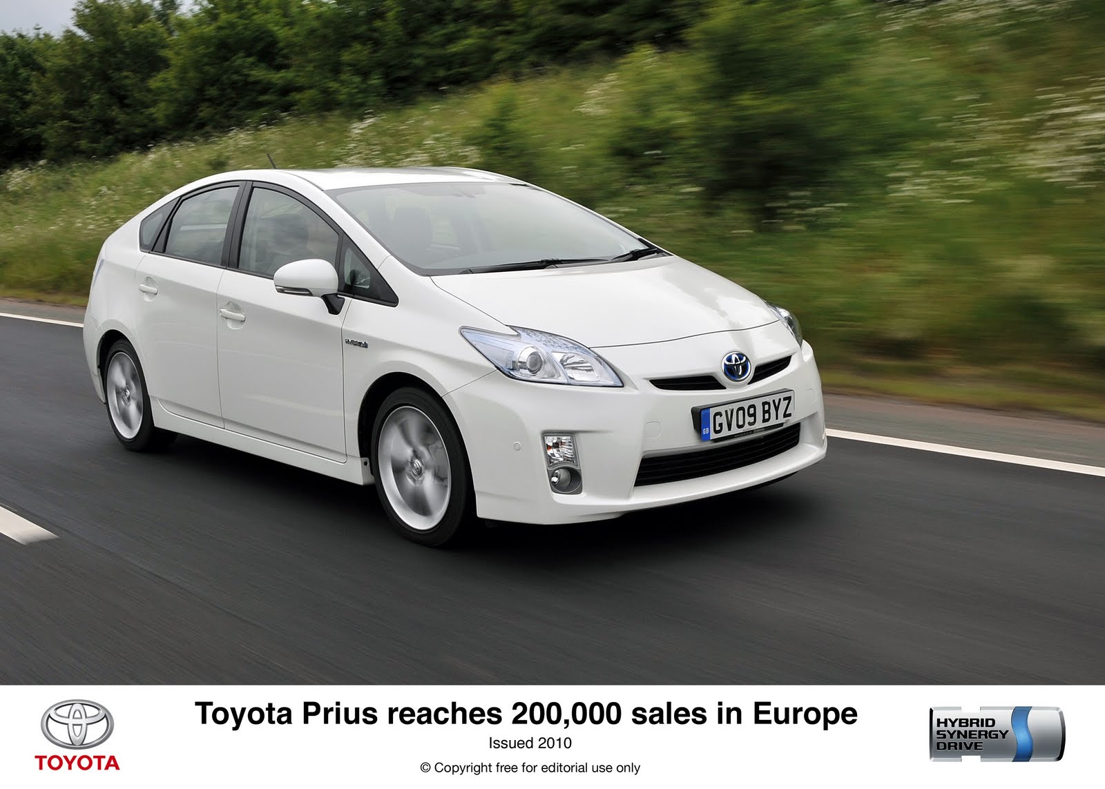 Toyota Prius Sales Reach 200,000 in Europe | Electric Vehicle News