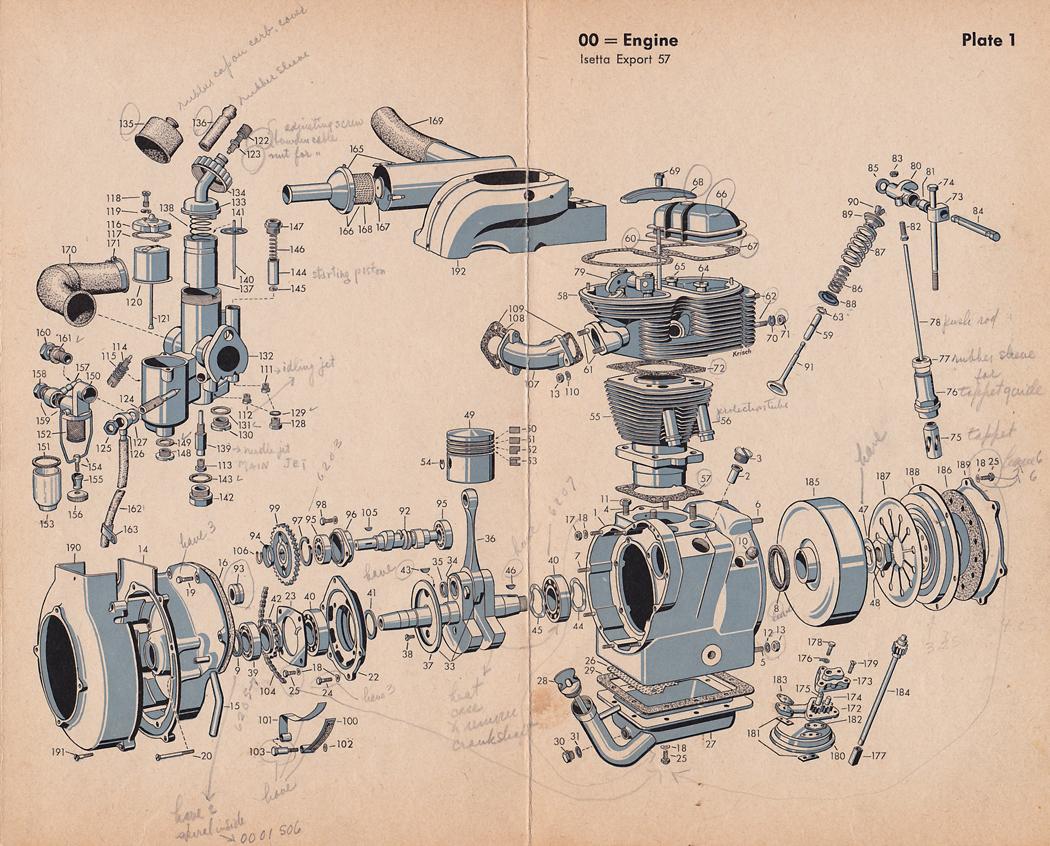 Wrg 4083 Motorcycle Engine Parts Diagram