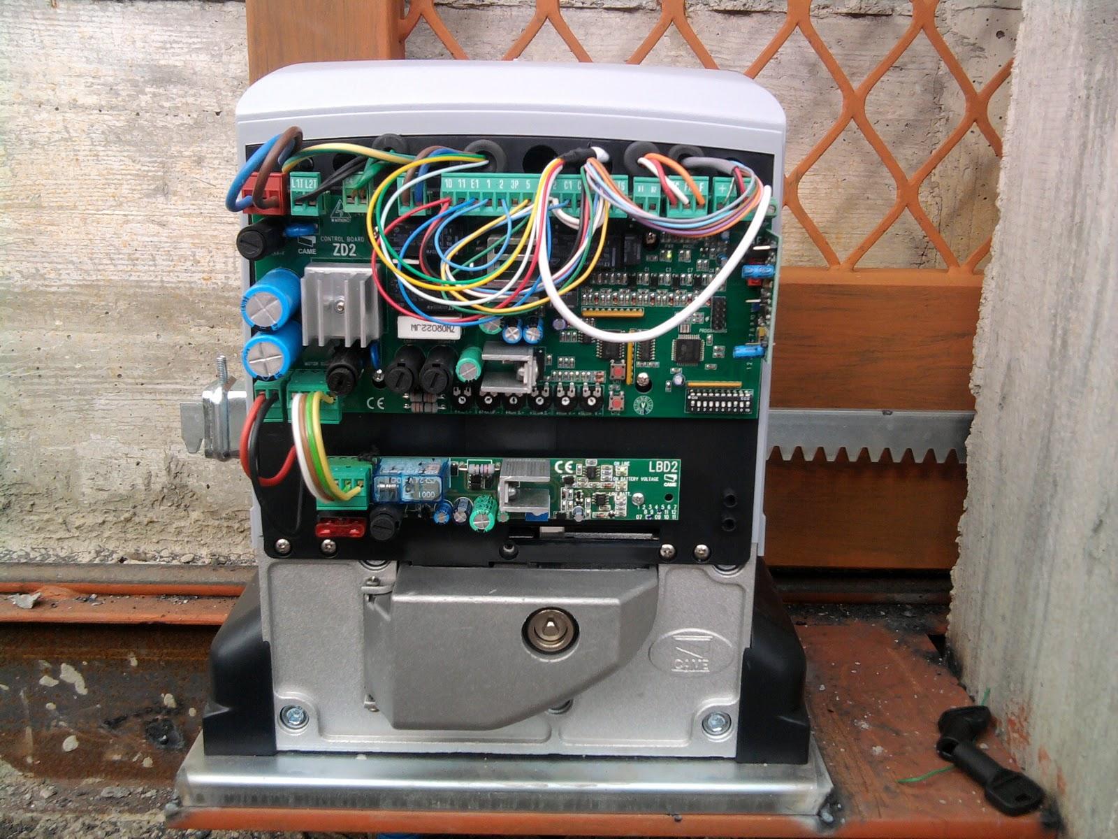 Teknoimpianti impianti elettrici ed elettronici corretta for Fotocellule came schema elettrico