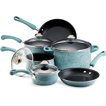 Reach for the stylish, sturdy Paula Deen(r) River bend Aluminum Nonstick 5-Quart Covered Jumbo Cooker with Helper Handle and add dishwasher-safe convenience and .