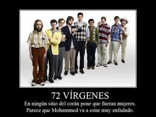 72 virgenes