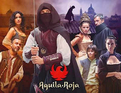 Águila Roja gana el premio de mejor serie de ficción