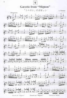 Gavotte viola suzuki book 1