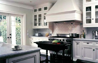 Wordless Wednesday Black And White Kitchen The Green