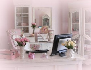 Wordless Wednesday: Pink Office (Breast Cancer Awareness Month)