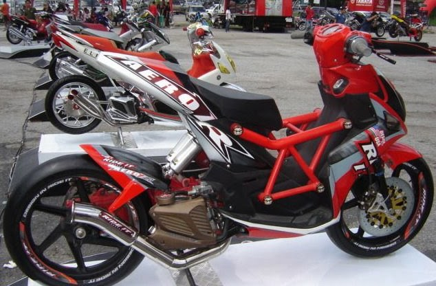 Motorcycle News: YAMAHA NOUVO MODIFIKASI EKSTREM THAILAND
