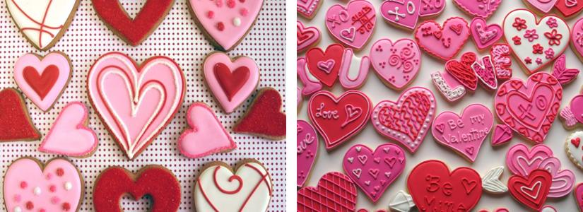 Tips For Baking And Decorating Valentineu0027s Day Cookies Tutorial And Video