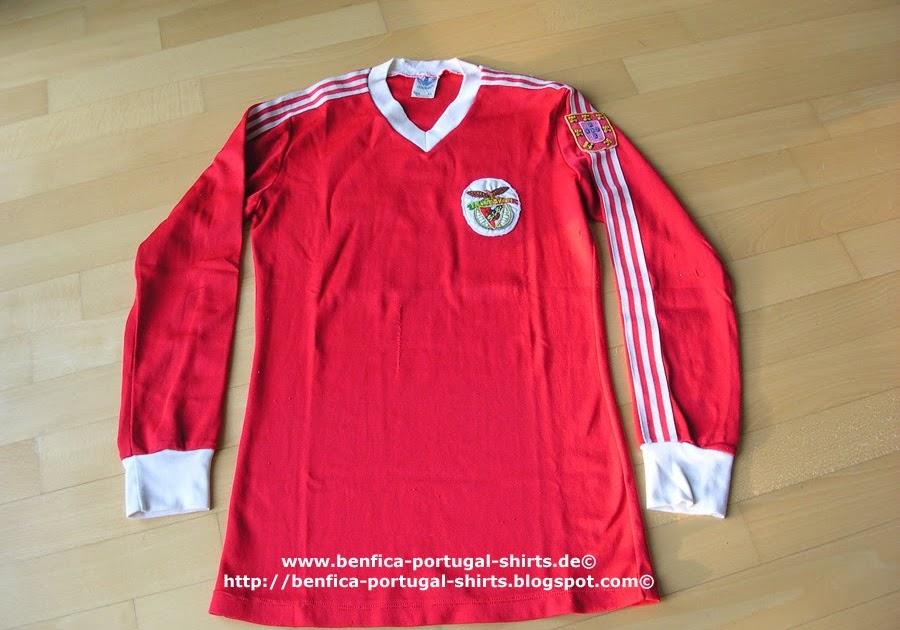 Chalana Benfica: Benfica-Portugal-Shirts: Benfica 1983/84