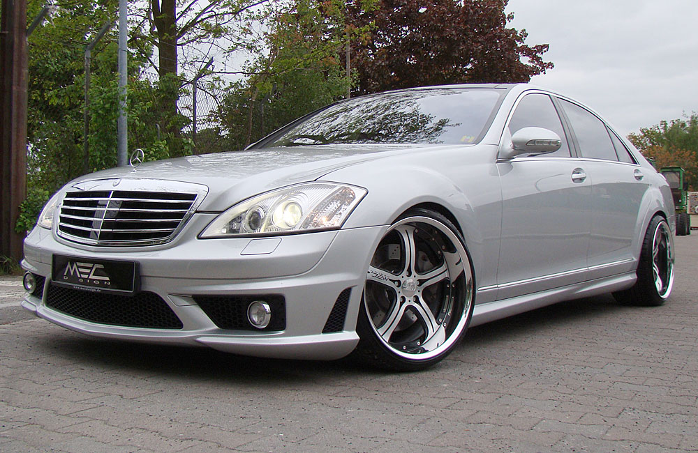 New Mercedes Benz S550 Tuned 2010