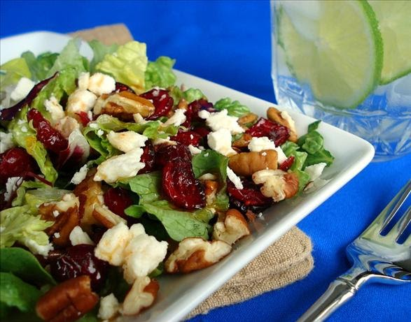 Live Positive Today .Org: Cranberry Spinach Salad