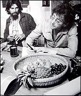 Tittenhurst Park George Harrison And John Lennon In The Kitchen At Tittenhurst Park