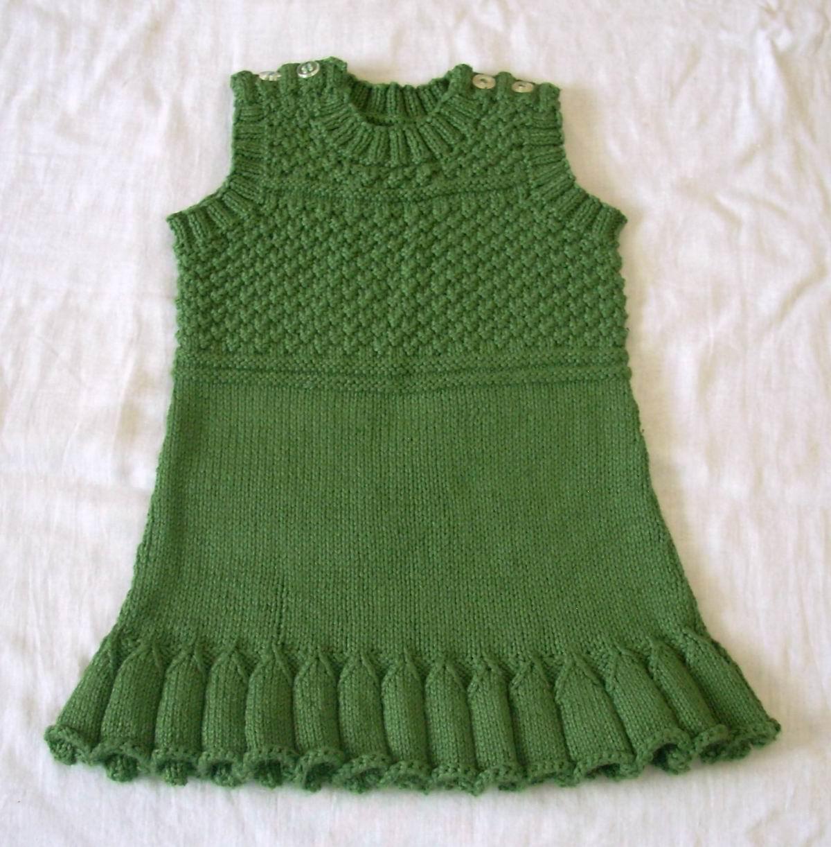 457bef755 Umme Yusuf  DROPS Baby Dress   Vest
