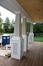 Jackson Street Paint Front Porch Columns Garage