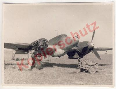 FalkeEins - the Luftwaffe blog: Bf 110 G with 37mm Flak 18