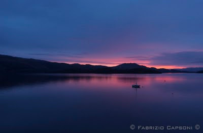 """Alba a Loch Lomond"""" - Scozia, ©2006 Capsoni"""