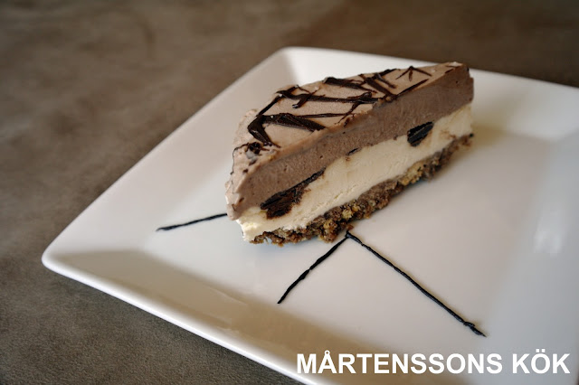 cheesecake med nutella